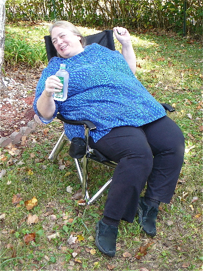 Portable Folding Chair   Amplestuff   Plus Size Products And Bariatric  Resources